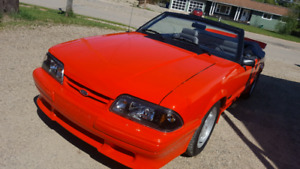 1983 Mustang GT 5.0 Convertible. Possible Trade on GM 4x4 SUV
