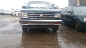 1987 CHEVY S10 WRANGLER 4 CYL 2.5 LTS