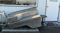 Pre-owned Aluminum Tool Boxes $40.00 For The Set...