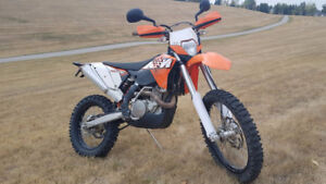 2011 KTM 530 EXC; fast and clean!