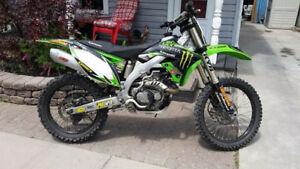 09 kx450f trade for sport/race quad