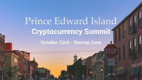 PEI Cryptocurrency Summit at Startup Zone