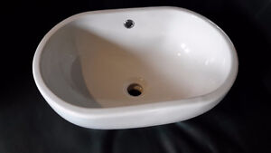 Above counter mount sink
