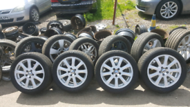 """17"""" FORD TRANSIT CONNECT ALLOYS £400 FREE TYRES INC FIT N BAL OPN 7DYS"""