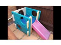 Little tikes activity climber and slide