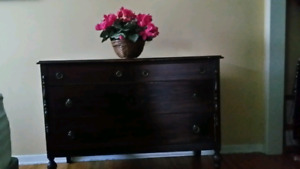 Antique 4-Drawer Dresser - perfect for a change table too!!