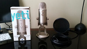 Blue Yeti Platinum Edition USB Mic w/ Pop Filter