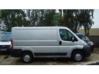 2007 PEUGEOT BOXER 2.2 HDi H1 SWB Van 100ps NO VAT