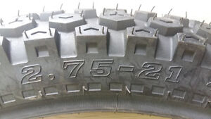 brand new front 80/100/21= 2.75 21 Enduro tire