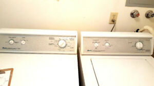 Renovation sale-Amana Washer and Dryer
