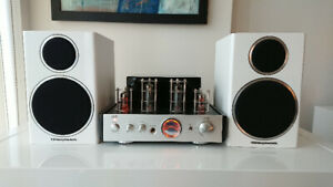 25W Stereo Tube Amplifier with Wharfedale 210 Bookshelf Speakers