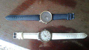 2 new ladies denim watches