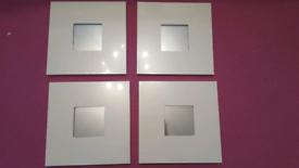 Ikea malma framed mirrors