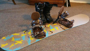 Board, Bindings, Boots, and Bag