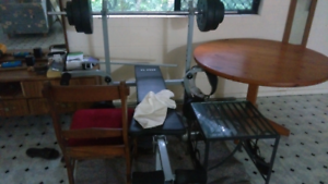 Weight lifting equipment, weight bench fitness bench