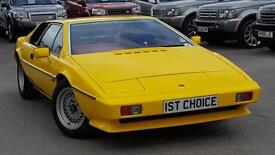 1985 LOTUS ESPRIT S3 STUNNING AND RARE ORIGINAL YELLOW WITH RED LEATHER JU