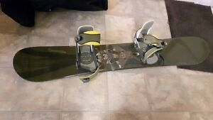 Solomon Snowboard, Bindings, and bad
