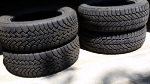 Goodyear Winter Tires 205/55/R16 - Great Condition