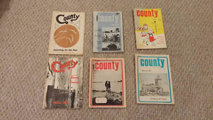 "Prince Edward County First addition ""County""  magazines"