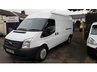 ONLY 53000 MILES FROM NEW,REAR WHEEL DRIVE,2012 FORD TRANSIT LWB MEDUIM ROOF,car