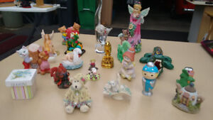 Collectible Figurines - Animals, little girl, angels