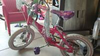 Girls Barbie Bike
