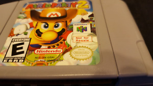 Mario Party 2 NOT FOR RESALE N64