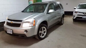 2008 Chevrolet equinox LT AWD silver metallic 5dr leather,