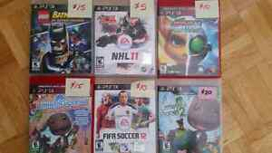 Various PS3 Games In Excellent Condition