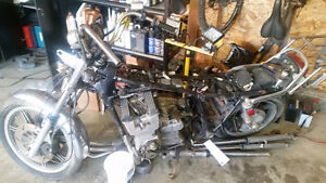 1980 Yamaha XS1100 Parts Bike with Engine