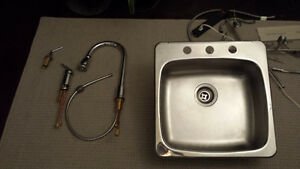 Faucet and sink for sale!