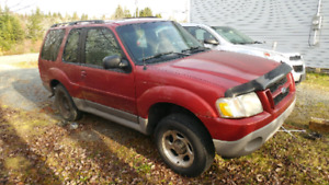 01 Ford Explorer TRADE FOR ATV