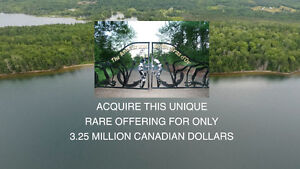 140 forested acres deep waterfront paradise Cape Breton NS
