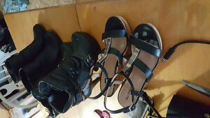 All three pairs... size 7