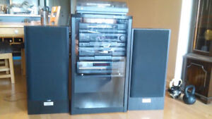 Kenwood Speakers (whole sound system included, if wanted)
