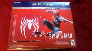 PS4 Pro Spider-Man Édition Limitée NEUVE