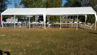 Chairs,Tables,Tents for rent !!!