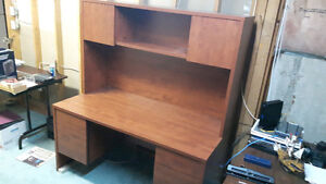 Office Desk with Hutch Cambridge Kitchener Area image 1