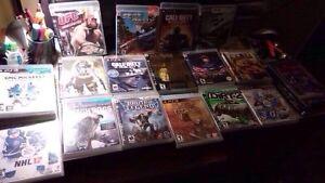 Jeux ps3 et Xbox one