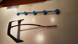 Dryland -Hockey tiles with accessories.