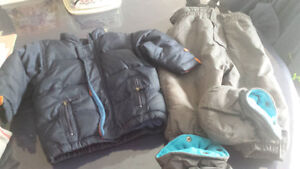Boys 18 month snowpants and coat