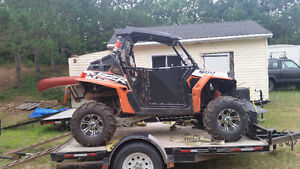 12 rzr 900xp  trade for 4 seater sxs