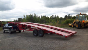 KAUFMAN WEDGE TRAILER 35 FT LONG FINANCING AVAILABLE