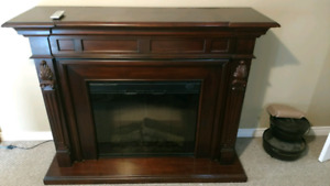Dimplex fireplace electric with mantle
