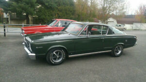 Barracuda 1966 moteur 318 14.000$ negociable