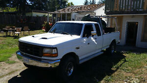 1997 Ford F-250 Heavy Duty Pickup Truck extracab