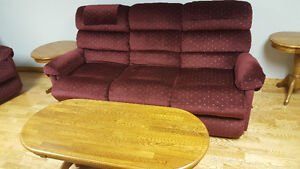Real lazyboy recliners set