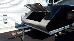 Double Enclosed Trailer. Fits 137 sleds 2800
