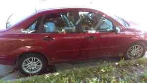 2000 ford focus zts 500$ OBO!!  Cambridge Kitchener Area image 1