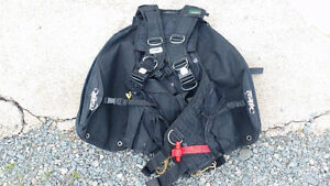 Zeagle tech Large with weights and octo on bcd SCUBA DIVING